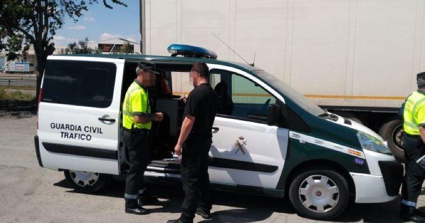 detenido, camionero, septuplicar, tasa, alcohol, inmovilizado, vehículo, Murcia