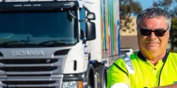 Tim Mason, conductor, mejor, Scania, empresa, Australia, puntuación,