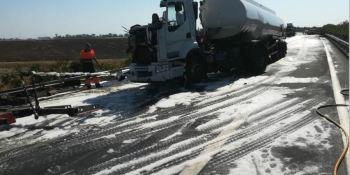 fallece, camionero, colisión, camiones, A-49, Huelva
