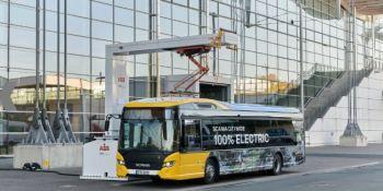autobús, eléctrico, Scania, pruebas,
