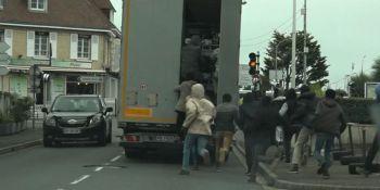 inmigrantes, camiones, Reino Unido,
