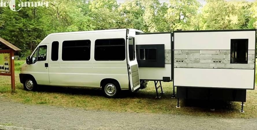 IoCamper, apartamento, cabe, furgoneta, vídeo,