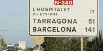 restablece, parcialmente, desvíos, camiones, Cataluña,
