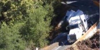 Caltrans, accidente, carretera, California, camión, obras, longitud,