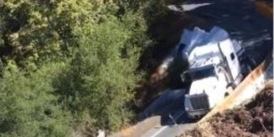 Caltrans, accidente, carretera, California, camión, obras, longitud,