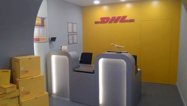DHL Express, nuevo, Center, Alicante,