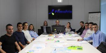 alemana, prácticas, Primafrio, estudiantes, formación profesional, dual,