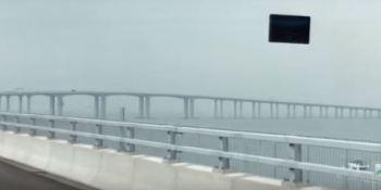 puente, mas largo, del mundo, autobuses, autocares, Scania, fabricantes del sector, Hong Kong, empresas,