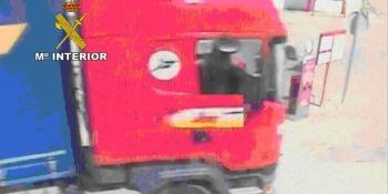 investigan, personas, robo, camión, Jaén, Guardia Civil,