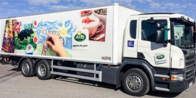 Arla, Scania, transporte, sostenible,