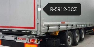 ¡Ayuda!, ¡Alerta!, localización, tractora, semirremolque robados, matrículas,
