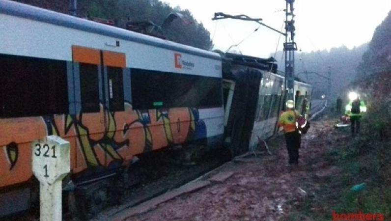 fallecido, heridos, descarrilamiento, tren, Barcelona,