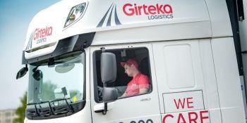 ¿Huelga en Girteka Logistics?, dos versiones, conductores, empresa,