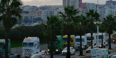 presidenta, puerto, Barcelona, insta, transportistas, dialogo,