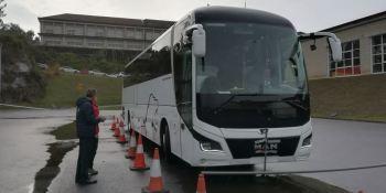 Expobus Iberia, feria, autobús, Silleda, Galicia, autocar, conductores, competición, mejor conductor, España,