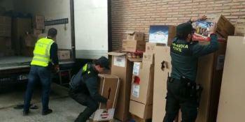 desarticulada, banda, robo, mercancía, camiones, Granada, Córdoba,