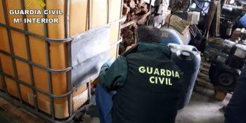 desarticulada, banda, robo, gasoil, empresas, transporte, construcción, Vigo,