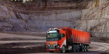 Volvo Trucks, camiones, autónomos, obra, trabajo, empresa, fabricantes del sector,