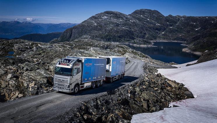 carreteras, naturaleza, Noruega, transporte, pescado, fabricantes del sector, empresas, actualidad, reportajes,