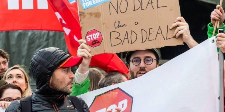 trabajadores, camioneros, conductores, Bruselas, protesta, Parlamento Europeo, Comisión Europea,