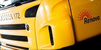 Scania, entrega, camión, pila, combustible, Renova, Suecia,