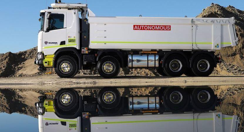 Scania, camión, autónomo, Rio Tinto, Australia, pruebas,