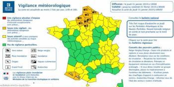 aviso, naranja, Pas-de-Calais, prohibido, circulación, camiones,