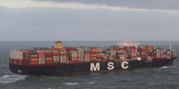 buque, contenedores, pérdida, mercancías, costas holandesas,
