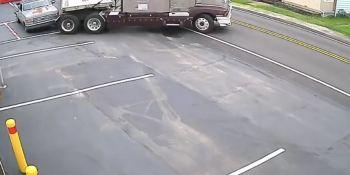 conductor, camión, camionero, cambio de sentido,