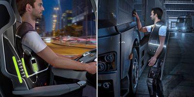 Continental, chaqueta, luces, seguridad, conductor, empresas, tecnología, actualidad,