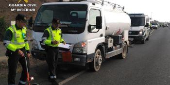 conductor, camión, mercancías, peligrosas, investigan, conducir, efectos, cocaína,