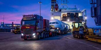 Mercedes-Benz, transporte, especial, avión, Airbus, empresas, fabricantes del sector,