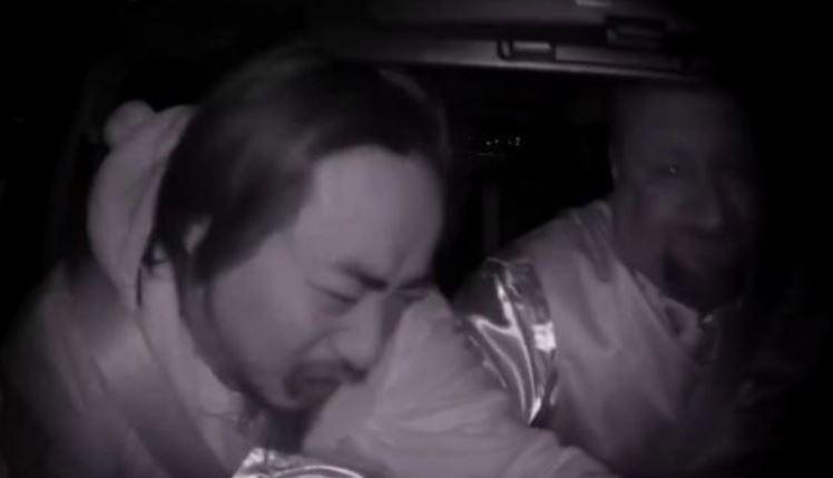 conductor, Uber, pasajero, borracho, susto, curiosidades, sociedad,