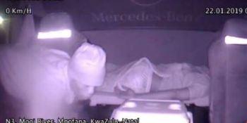 robo, cabina, conductor, durmiendo, sucesos, sociedad, vídeos,