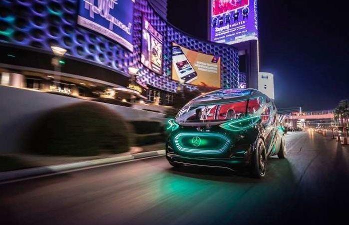 Las Vegas, CES, Urbanetic, Mercedes-Benz, presentación,
