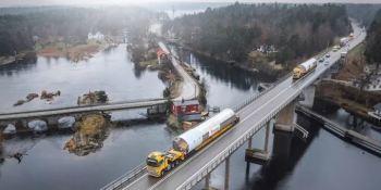 entrega, Austria, Suecia, Volvo, transporte especial, empresas, fabricantes del sector, actualidad,