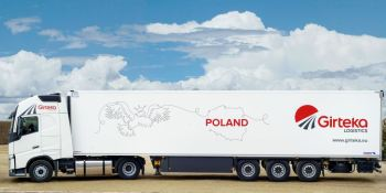 Girteka Logistics, continúa, expansión, apertura, nueva, base, transporte, Polonia,