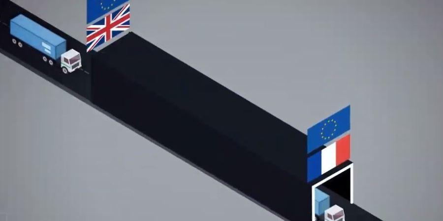 Francia, aduana, inteligente, colapso, camiones,s Reino Unido, Brexit,