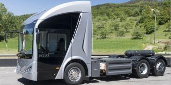 grupo, Irizar, presenta, nuevo, innovador, camión, eléctrico,ie truck
