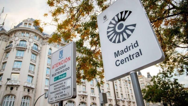 vehículos, acceso, Madrid Central, 360