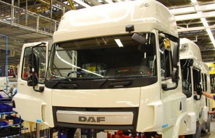 Westerlo. fabricantes del sector, empresas, DAF, inversión, fábrica, cabinas,