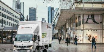 DB Schenker, Daimler, amplían, asociación, camiones, eléctricos,