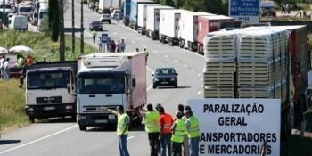 camioneros, portugueses, anuncian, nuevas, jornadas, huelga,
