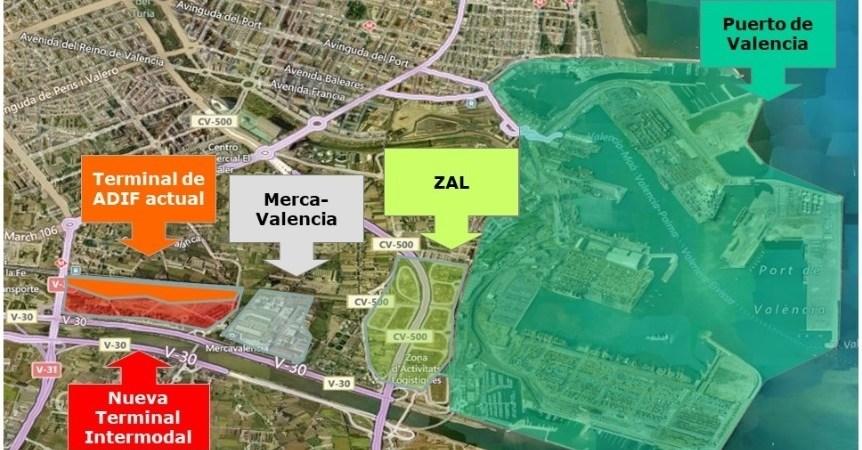publicado, convenio, terminal, intermodal, Valencia, Fuente, San Luis,