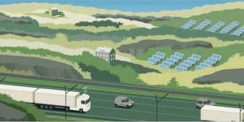 Scania, carreteras, eléctricas,