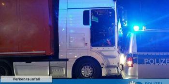 camionero, policía, consiguen, detener camión, conductor, fallecido,