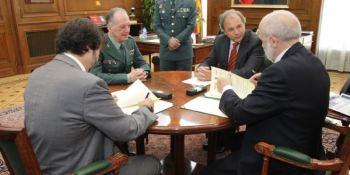 Guardia Civil, Alsa, firman, protocolo, colaboración,