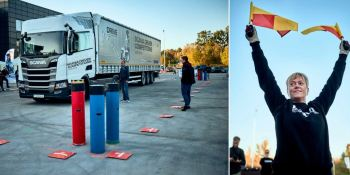 llega, final, europea, 2.019, Scania, Driver, Competitions,