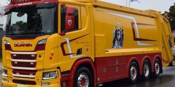 Scania, recogida, basura, empresas, fabricantes del sector, curiosidades,