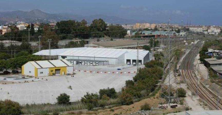 terrenos, almacén, Amazon, Málaga, obras, comienzo,